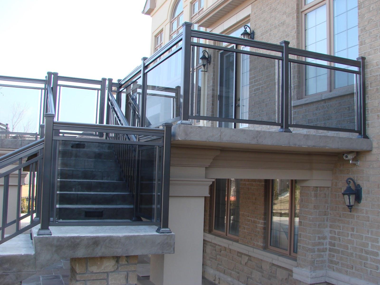Glass railings for decks - Quality Glass Railings Manufacturer In Toronto