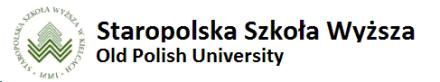 Staropolska Szkoła Wyższa Wydział Pedagogiczny Warszawa (м. Варшава, Польща)