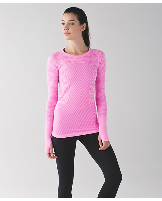 lululemon raspberry-glo-swiftly-ls