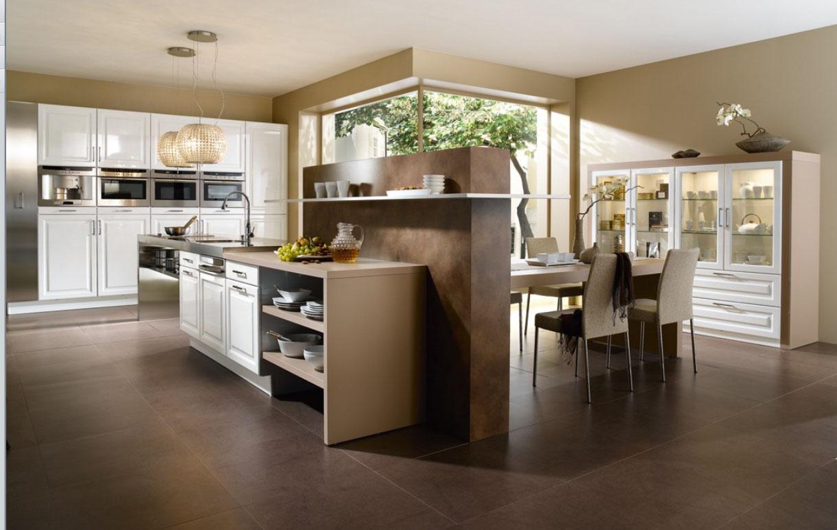 Carpenter house carpenter house especial cocinas for Luxury white kitchen design
