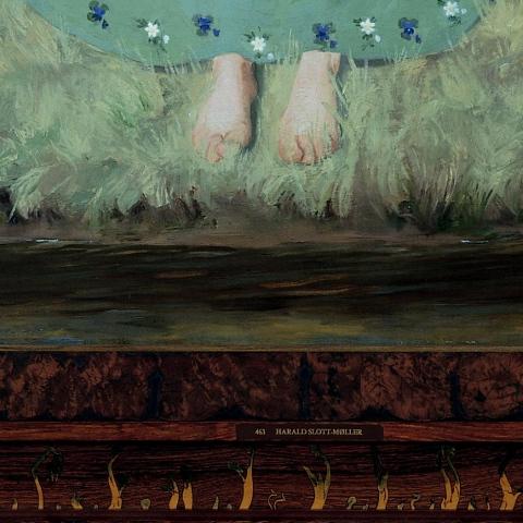 Udsnit fra 'Foråret' af Harald Slott-Møller