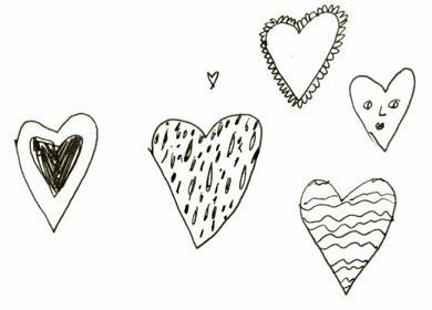 Elizabeth Graeber illustrated hearts