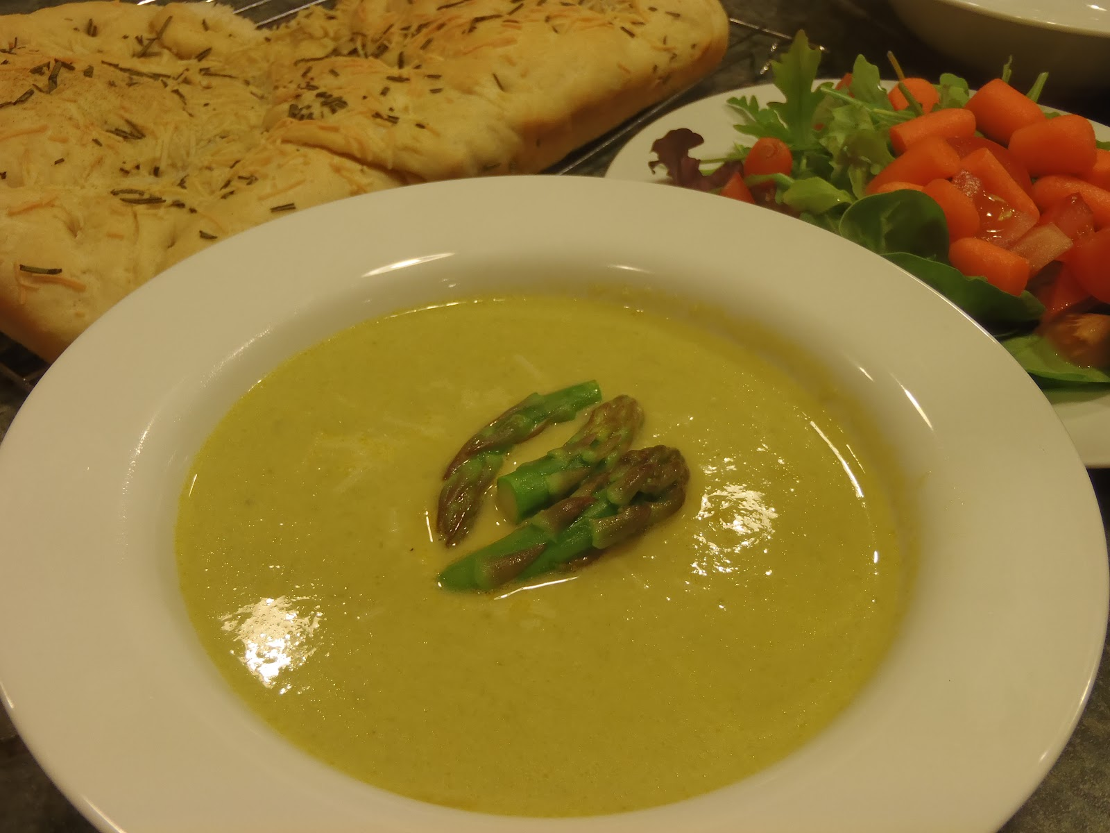 asparagus soup asparagus and ramp soup with yogurt asparagus soup ...