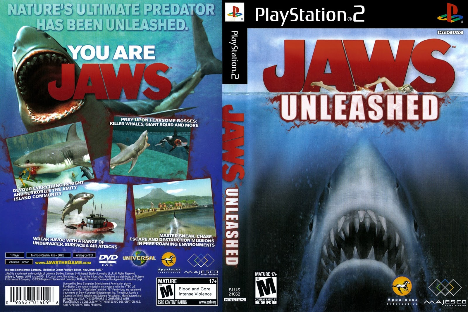 Jaws Unleashed - Wikipedia