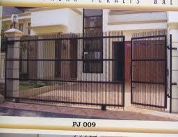Gambar Reka Bentuk Pagar Rumah Modern   Reka Bentuk Rumah