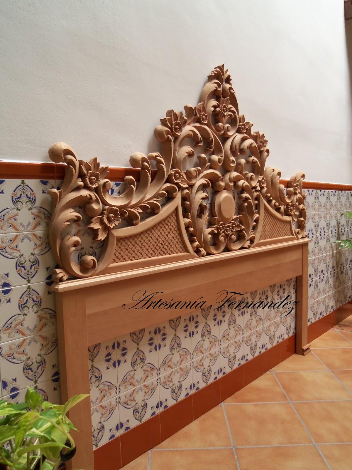 Muebles Tallados En Madera Perfect Sillas Madera Tapizado Piel  # Muebles Tallados En Madera