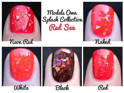 Models Own Red Sea Splash
