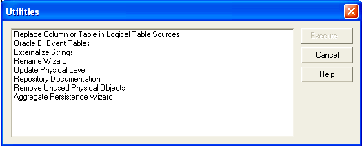 Replace Column or Table in Logical Table Sources in OBIEE