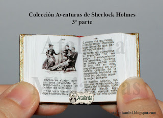 The Adventure of the Copper Beeches_miniature book Sherlock Holmes