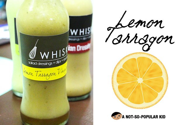Whisk's Lemon Tarragon Vinaigrette - Sweet and Refreshing!