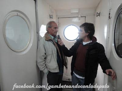 Con Ramón Cardozo, ex Independiente - Gambeteandoconladepalo