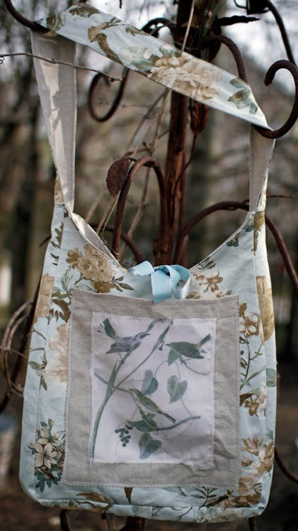 pretty bird bag