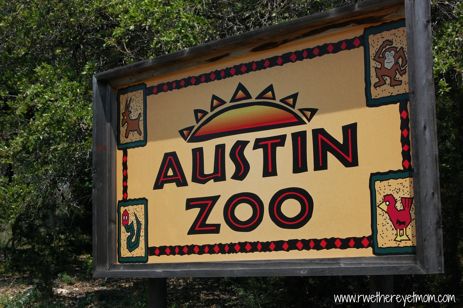 Austin Zoo ~ Austin, Texas - R We There Yet Mom?