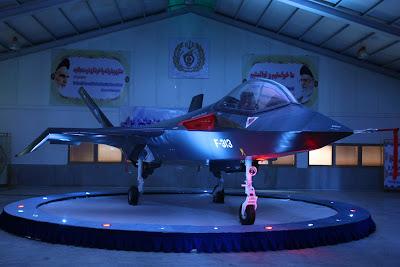 Jet Tempur Qaher F-313 buatan Iran