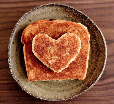 tostada corazon