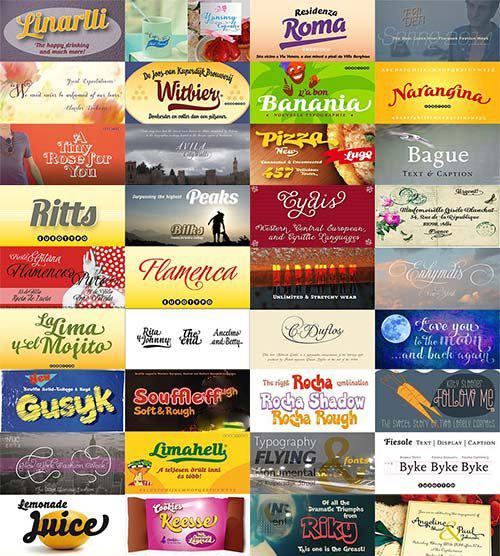 80 Fonts | خطوط انجليزية جديدة 2014
