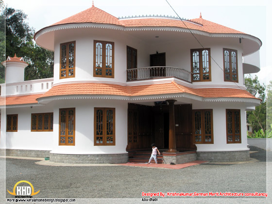 4 bhk, 2800 square feet villa in Kerala