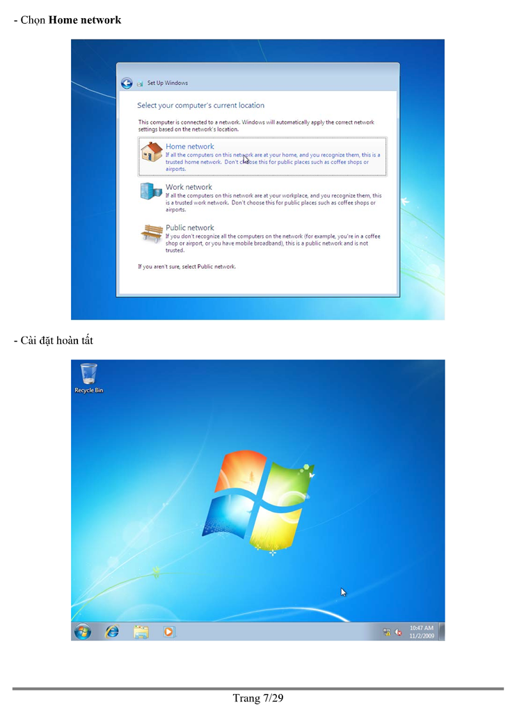 lab report installing windows 7 installing On windows 7 this page documents the dialog boxes you will encounter while installing my computer science lab software on a computer running the windows 7 operating system (either the 32-bit or 64-bit editions) start by inserting the computer science lab cd into your cd-rom drive in the old days the autorun.