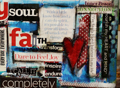 Mixed Media Vision Board Class, Sue Allemand & Stephanie Ackerman, San Diego, CA
