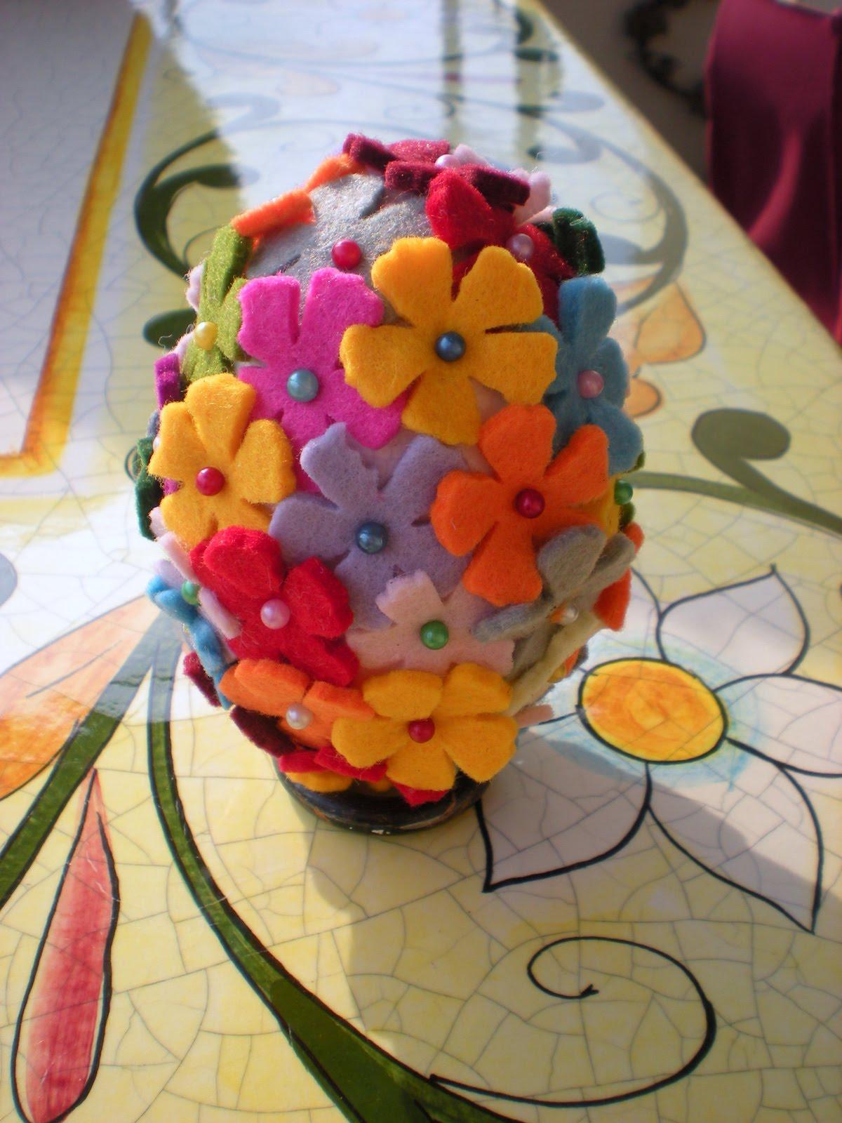 Perline e bottoni pasqua - Decorazioni in polistirolo ...