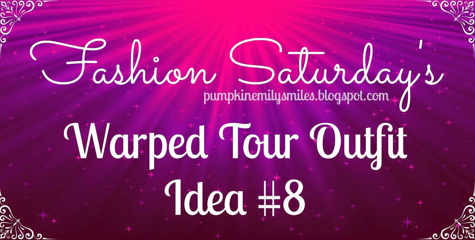 Fashion Saturday's Vans Warped Tour Outfit Idea #8
