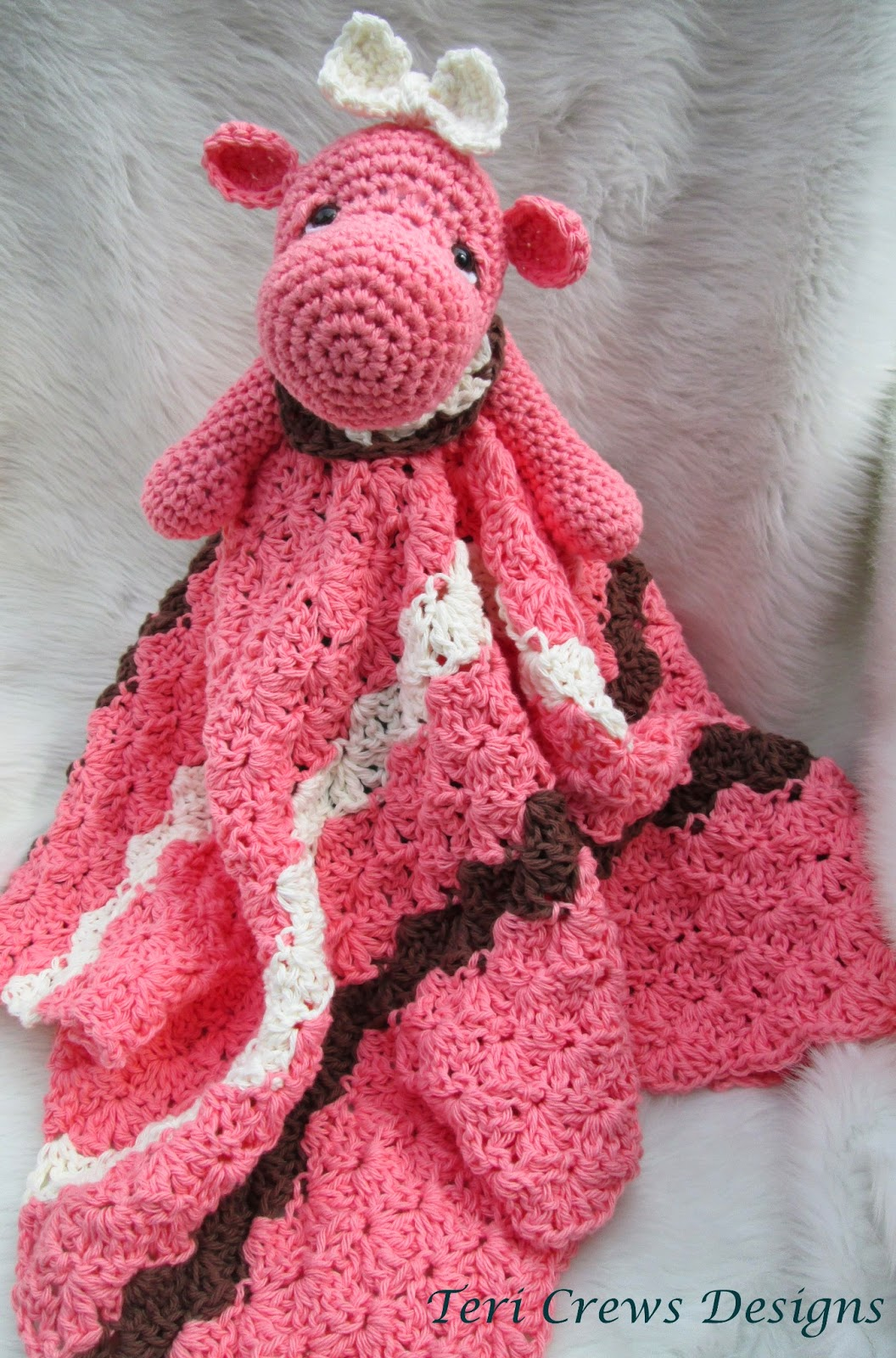 Free Crochet Pattern Huggy Blanket : Teris Blog: Hippo Huggy Blanket Crochet Pattern