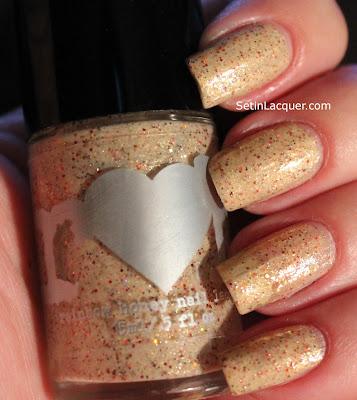 Rainbow Honey Kitsune nail polish