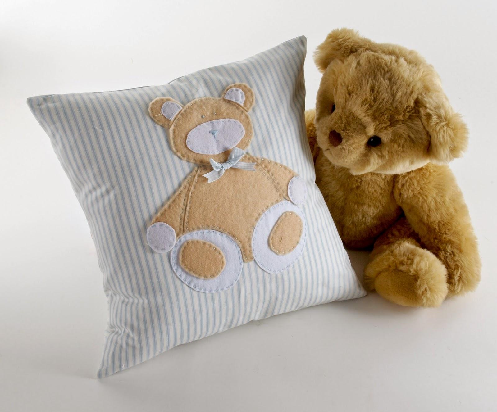 Qoo teddy bear patch kids fashion