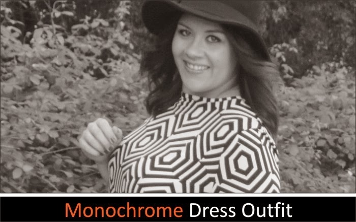 Monochrome Dress Outfit