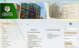 Ingresantes resultados Primer Examen General Universidad Catolica Santa Maria USCM 2014 1