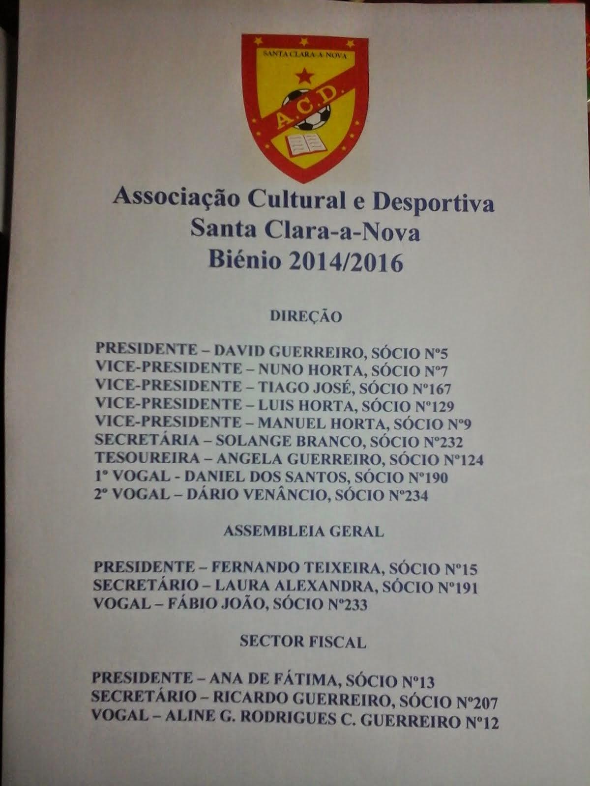Direção 2014-2016