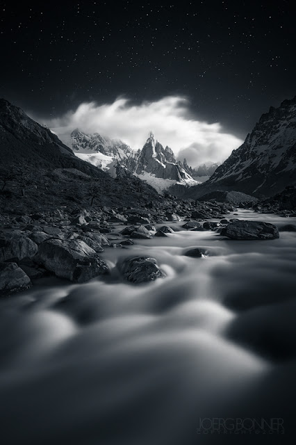 Cerro Torre at Night