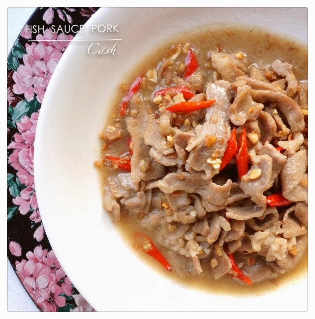 Stir fry fish sauce pork with peanuts cash palace for Fish sauce stir fry