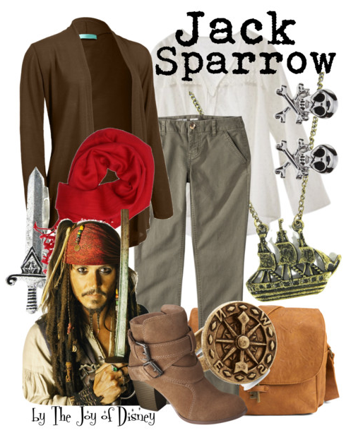Jack Sparrow Clothes, Pirates of the Caribbean Fashion