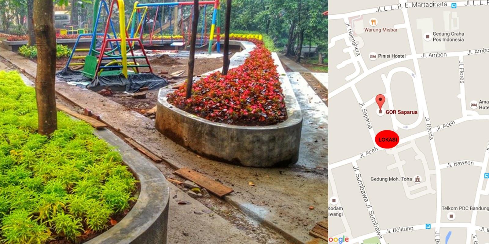 Lokasi Taman Inklusi Bandung