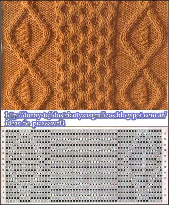 Вязание спицами узоры-фото