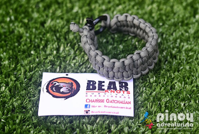 Bear Knots Survival Paracord Bracelet