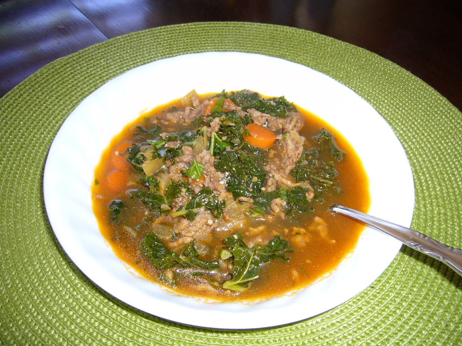 Adventures in Food: Italian Sausage and Kale soup
