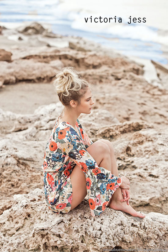 Moda verano 2016 Victoria Jess.