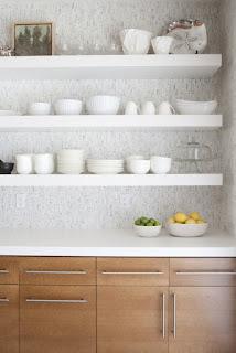 ... Ikea Hack: ... Ikea Floating Shelves Kitchen