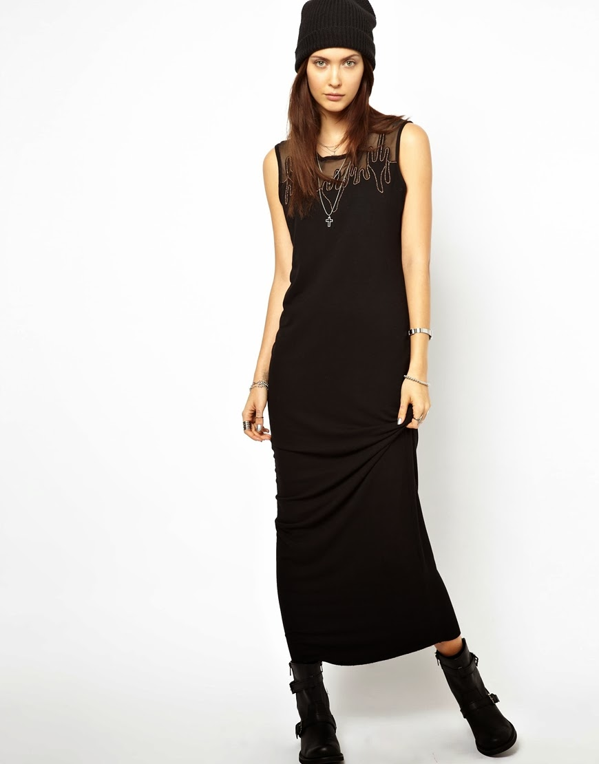 diesel maxi dress