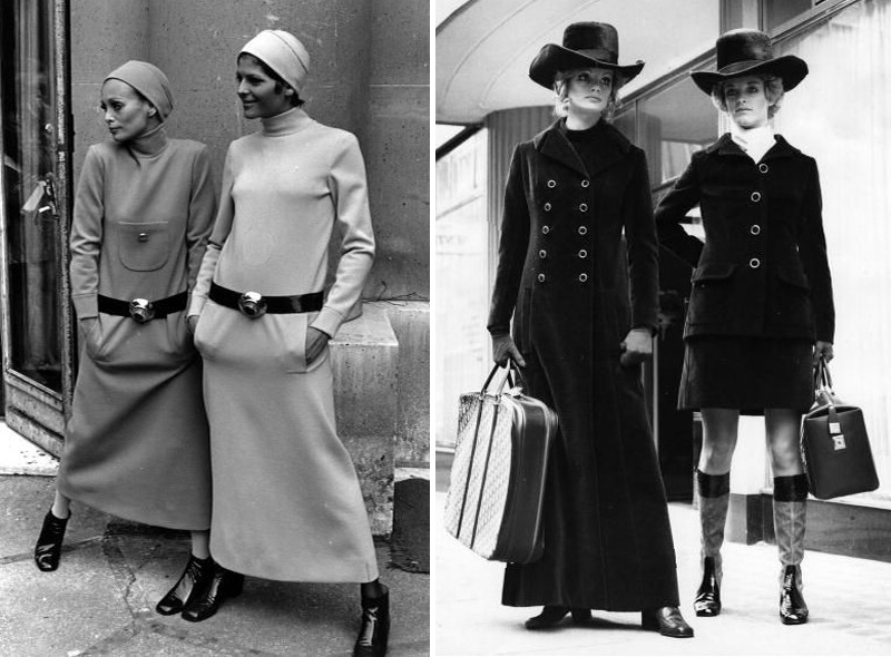 24 Pictures of Women's Fashions in the 1960s and 1970s ...