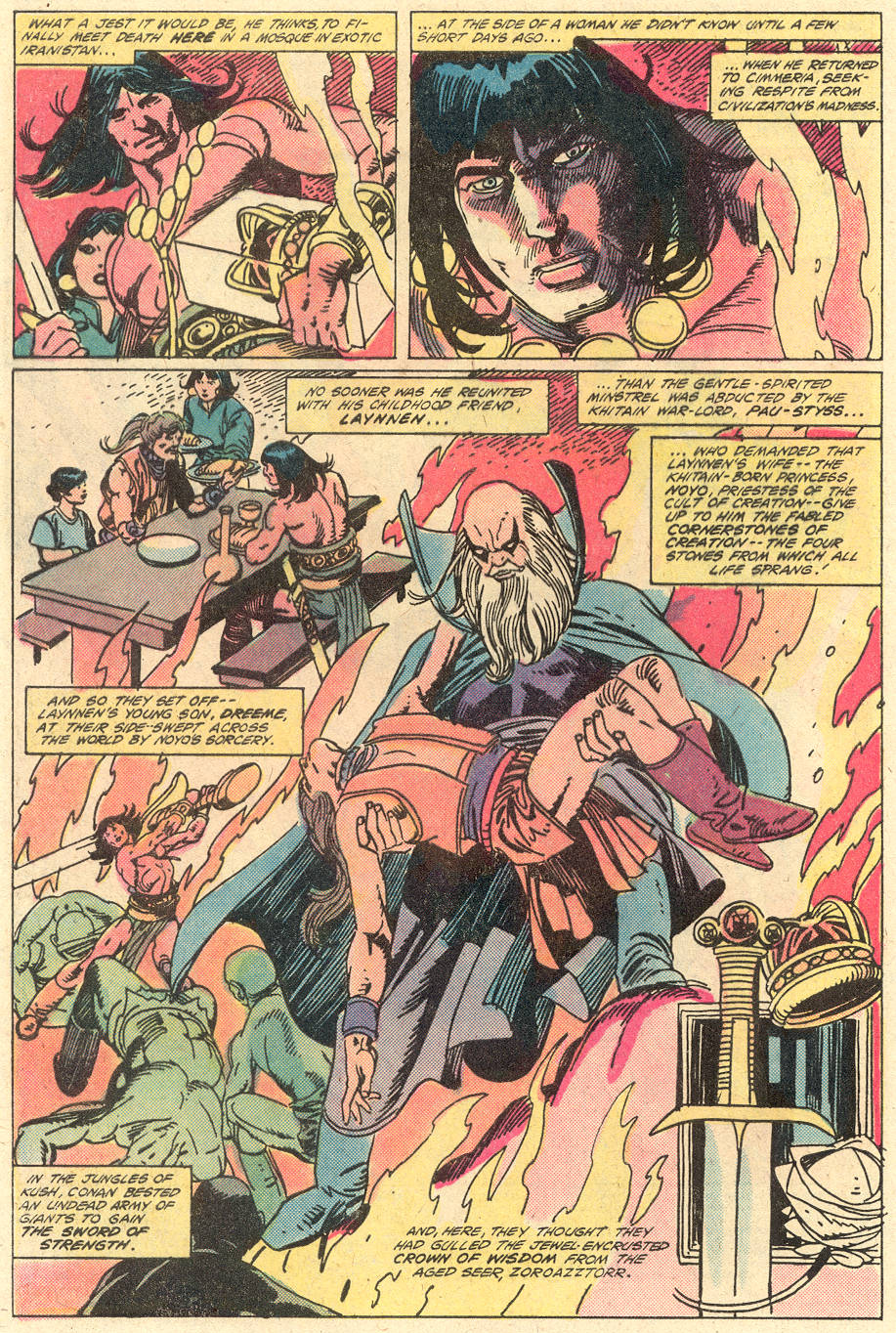 Conan the Barbarian (1970) Issue #130 #142 - English 3