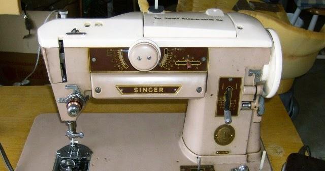 vintage sewing machine repair