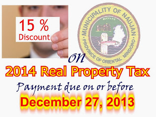 To all owners/administrators of Real Properties in Naujan