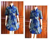 Dress Batik Solo DB 5053