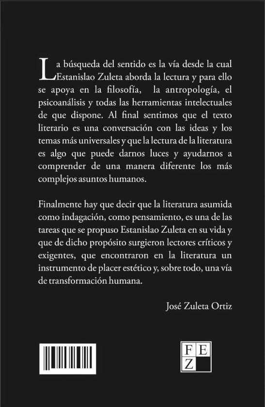 Estanislao zuleta sobre la lectura descargar