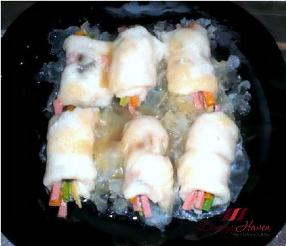 steamed dory with snow fungus recipe
