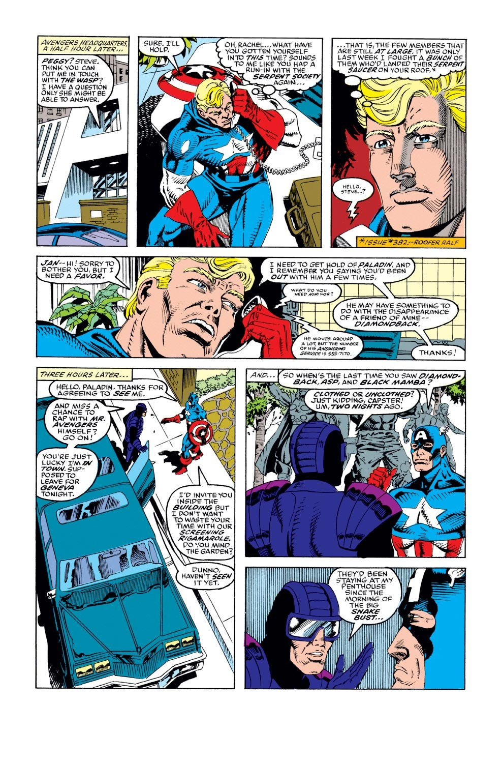 Captain America (1968) Issue #387 #320 - English 4