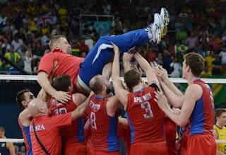 Волейбол Мужчины Финал Россия - Бразилия